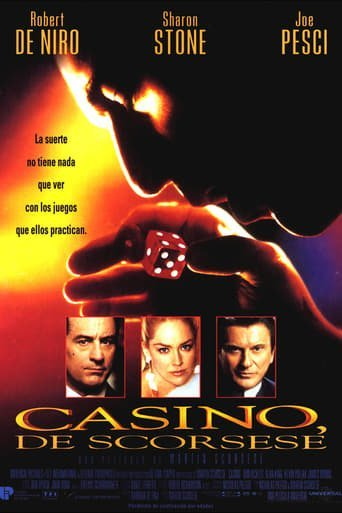 "Poster for the movie ""Casino"""