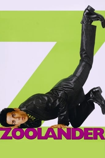 "Poster for the movie ""Zoolander (Un descerebrado de moda)"""
