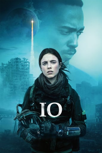 "Poster for the movie ""IO: Sola en la Tierra"""