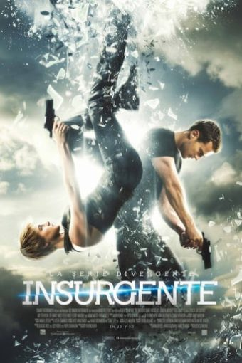 "Poster for the movie ""La serie Divergente: Insurgente"""