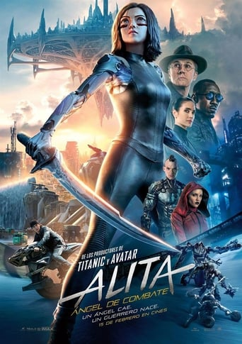 "Poster for the movie ""Alita: Ángel de Combate"""