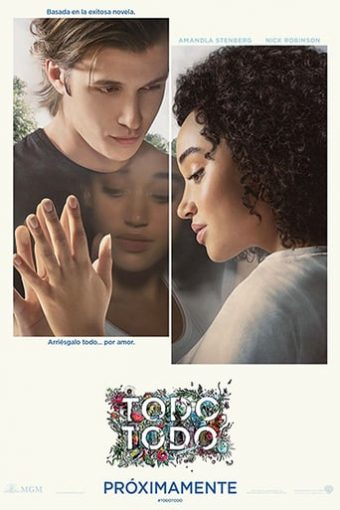 "Poster for the movie ""El amor lo es todo, todo"""