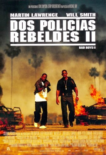 "Poster for the movie ""Dos policías rebeldes II"""