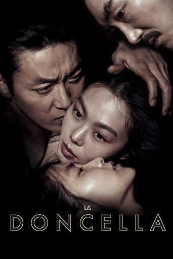 "Poster for the movie ""La doncella (The Handmaiden)"""