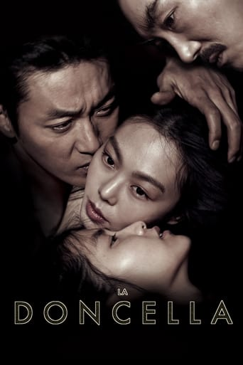 """Poster for the movie """"La doncella (The Handmaiden)"""""""