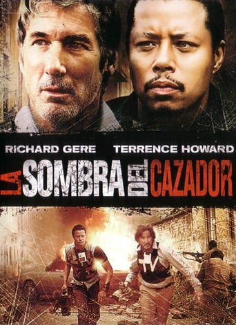 "Poster for the movie ""La sombra del cazador"""