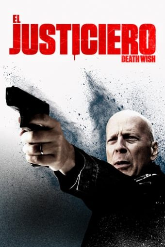 "Poster for the movie ""El justiciero"""