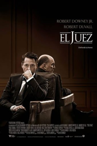 """Poster for the movie """"El juez"""""""
