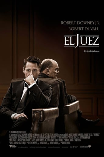 "Poster for the movie ""El juez"""
