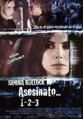 "Poster for the movie ""Asesinato… 1-2-3"""