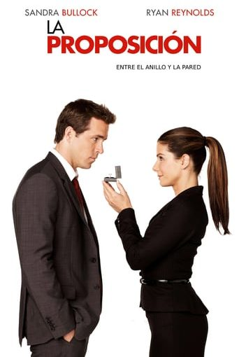 "Poster for the movie ""La proposición"""