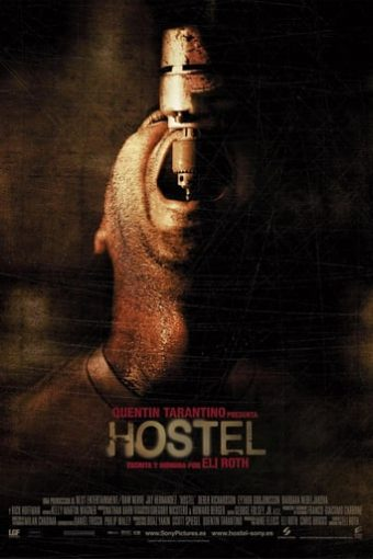 """Poster for the movie """"Hostel"""""""