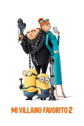 "Poster for the movie ""Gru 2. Mi villano favorito"""