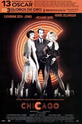 "Poster for the movie ""Chicago"""
