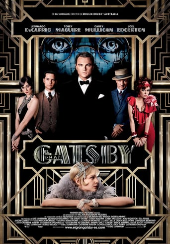 Poster for the movie «El gran Gatsby»