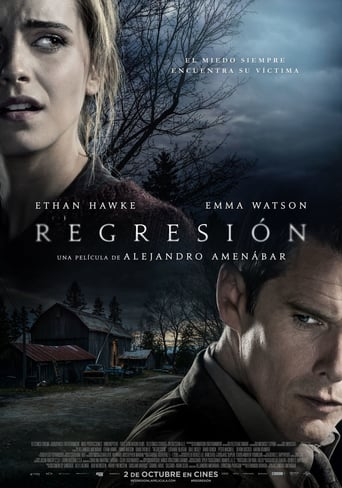 "Poster for the movie ""Regresión"""