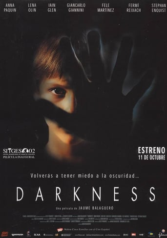 "Poster for the movie ""Darkness"""