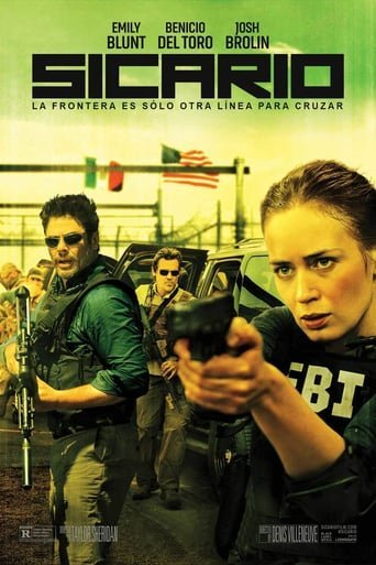 Poster for the movie «Sicario»