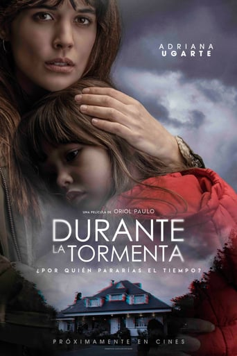 "Poster for the movie ""Durante la tormenta"""