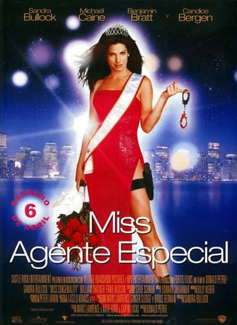 "Poster for the movie ""Miss Agente Especial"""
