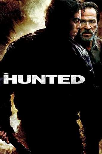 "Poster for the movie ""The Hunted (La presa)"""