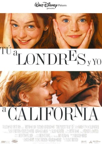 "Poster for the movie ""Tú a Londres y yo a California"""