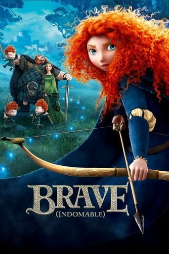 "Poster for the movie ""Brave (Indomable)"""