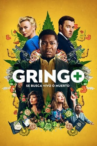 "Poster for the movie ""Gringo: Se busca vivo o muerto"""