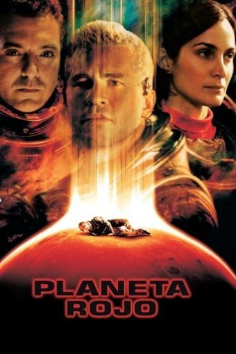 "Poster for the movie ""Planeta Rojo"""
