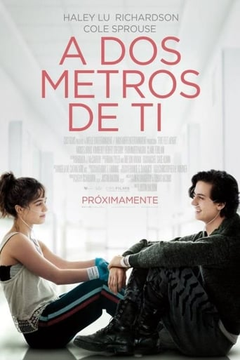 "Poster for the movie ""A dos metros de ti"""