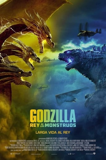 "Poster for the movie ""Godzilla: Rey de los monstruos"""