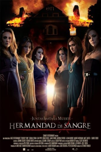 "Poster for the movie ""Hermandad de sangre"""