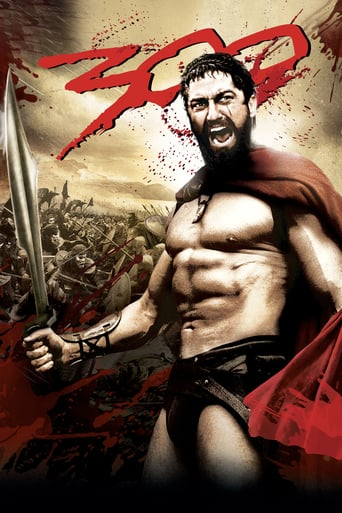Poster for the movie «300»