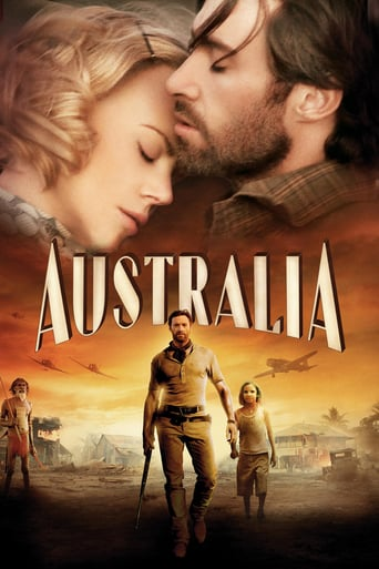 Poster for the movie «Australia»