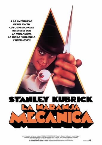"Poster for the movie ""La naranja mecánica"""