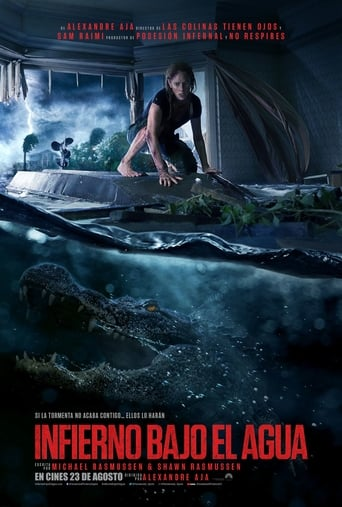 Poster for the movie «Infierno Bajo el Agua»