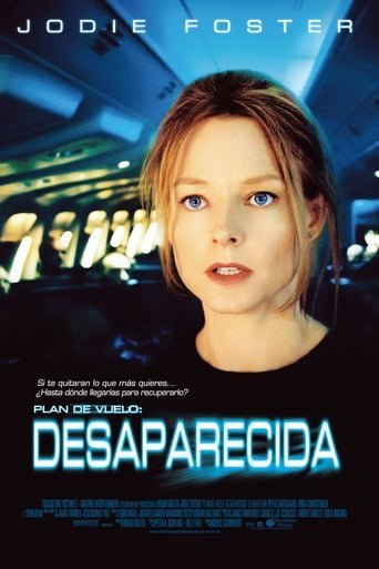 "Poster for the movie ""Plan de vuelo: desaparecida"""