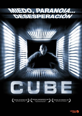 "Poster for the movie ""Cube"""