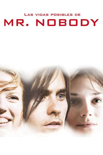 "Poster for the movie ""Las vidas posibles de Mr. Nobody"""
