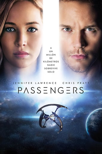 Poster for the movie «Passengers»
