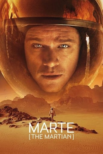 "Poster for the movie ""Marte (The Martian)"""