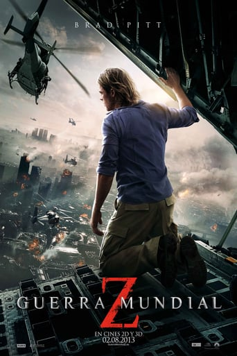 "Poster for the movie ""Guerra mundial Z"""