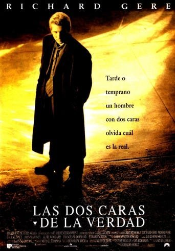 "Poster for the movie ""Las dos caras de la verdad"""