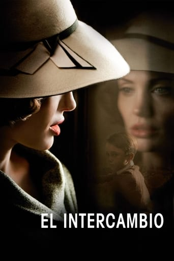 Poster for the movie «El intercambio»