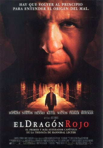"Poster for the movie ""El dragón rojo"""