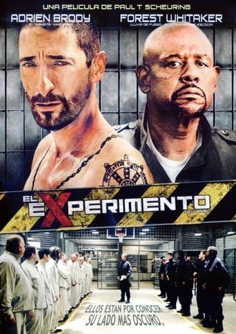 "Poster for the movie ""El experimento"""