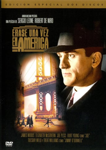 "Poster for the movie ""Érase una vez en América"""