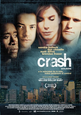 "Poster for the movie ""Crash (Colisión)"""