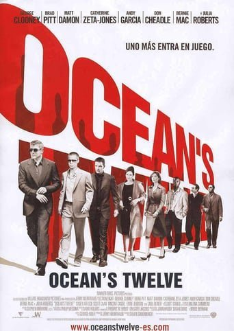 "Poster for the movie ""Ocean's Twelve"""