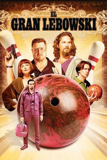 "Poster for the movie ""El gran Lebowski"""
